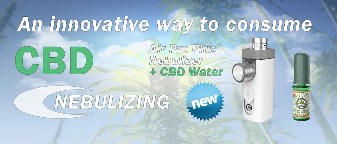 CBD Nebulizers with CBD Water