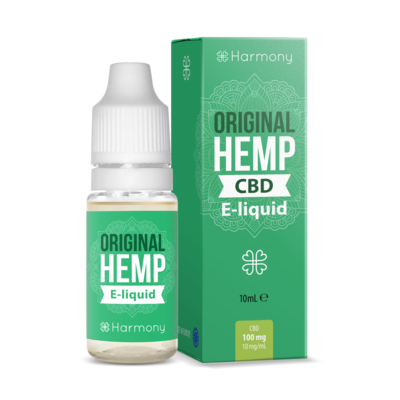 Harmony 100/300/600mg CBD E-Liquid - Original Hemp