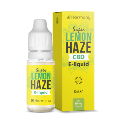Harmony 100/300/600mg CBD Oil E-Liquid - Super Lemon Haze