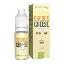 Harmony 100mg/300mg/600mg CBD E-Liquid - Exodus Cheese