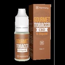 Harmony 100/300/600mg CBD Oil E-Liquid - Gourmet Tobacco