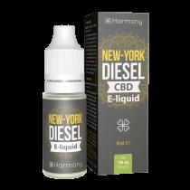 Harmony 100mg/300mg/600mg CBD E-Liquid - NYC Diesel