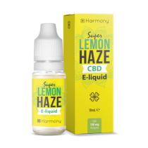 Harmony 100/300/600mg CBD Oil E-Liquid - Super Lemon Haze