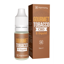 Harmony 100/300/600mg CBD Oil E-Liquid - Gourmet Tobacco