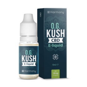 Harmony 100/300/600mg CBD Oil E-Liquid - OG Kush