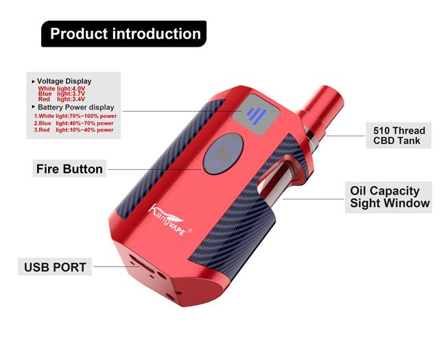 Kangvape TH-710 High CBD Oil Vape with 650mAh Battery